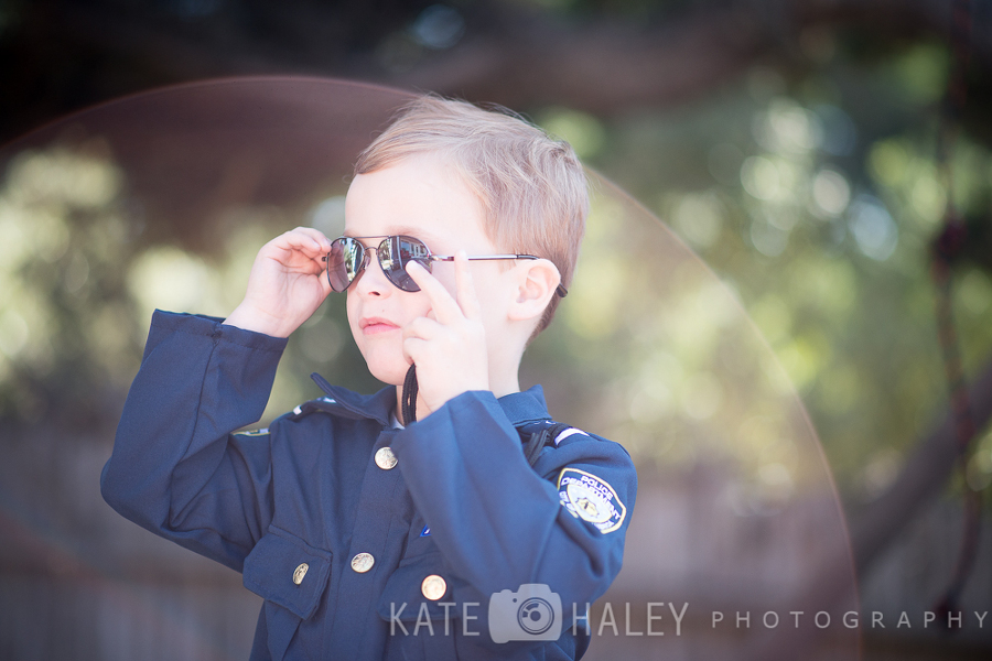 Halloween Cop is on the Beat in Half Moon Bay » Kate Haley Photography